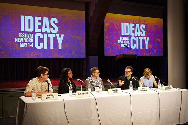 Ideas City: Panel Discussion