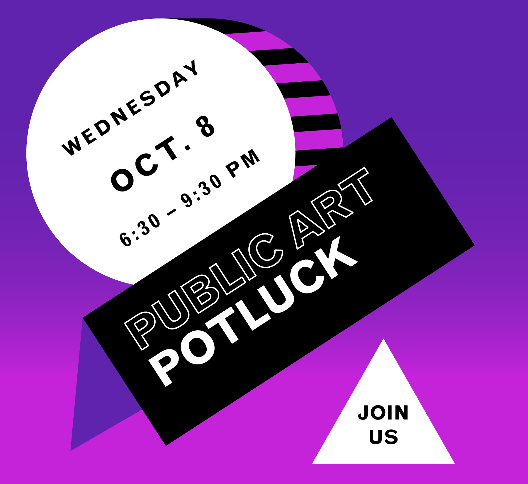 5th Annual Public Art Potluck