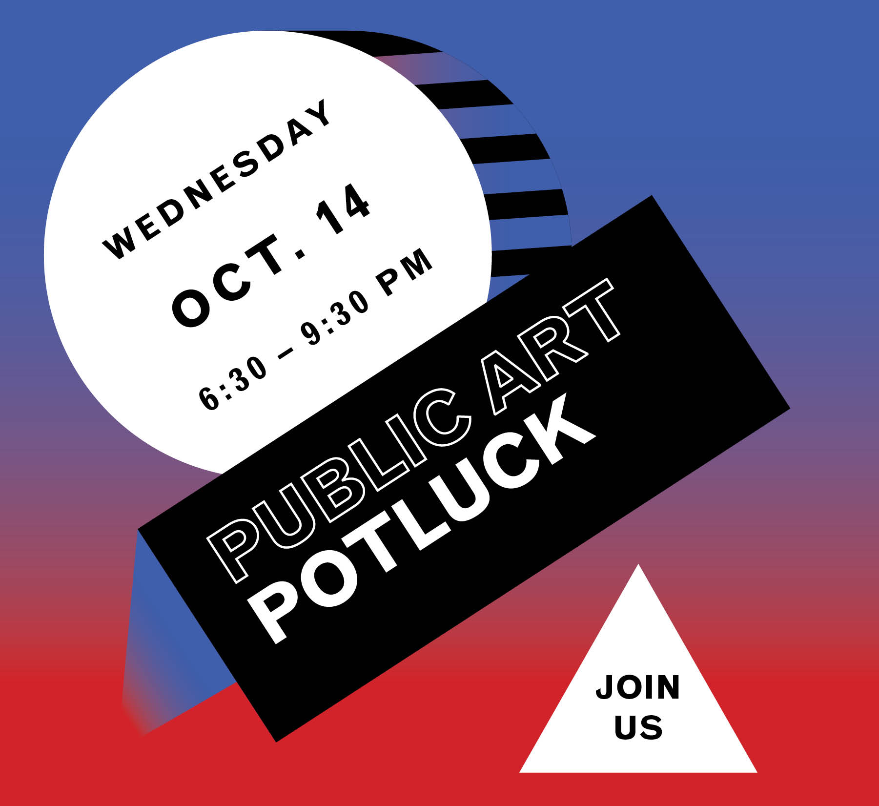 SAVE THE DATE Potluck