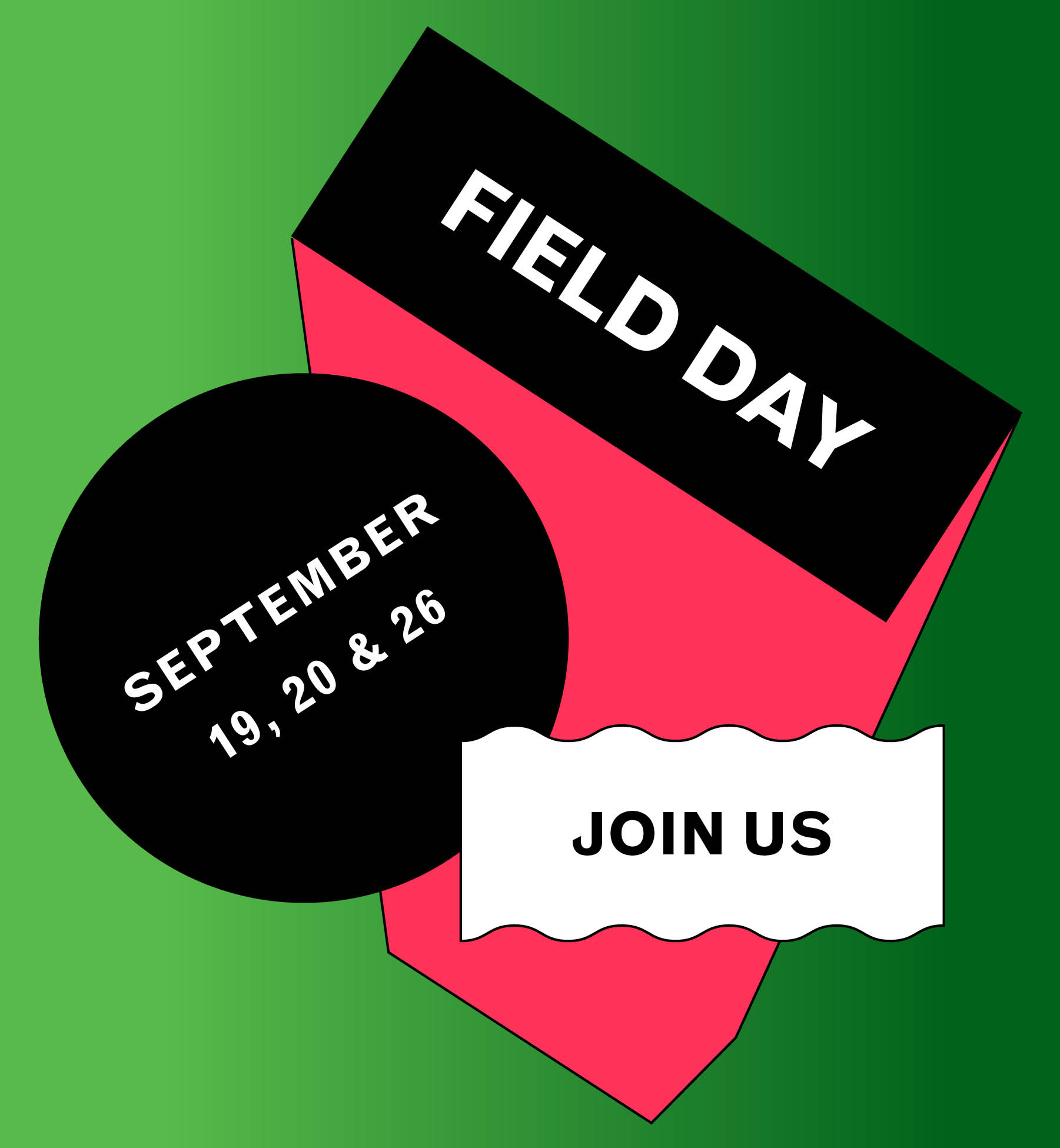 Save the Date Field Day 2015