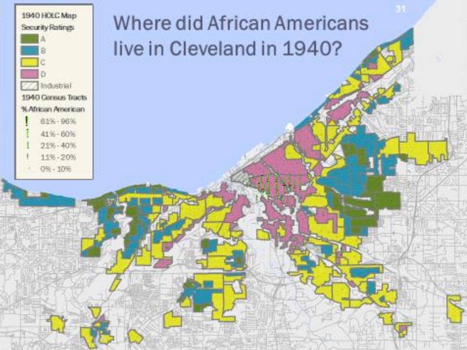 Visually Mapping Systemic Racism Principled Struggle The - Cleveland us map