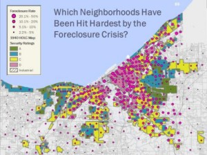 Map Foreclosures