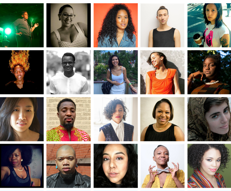 Meet Our 2017 Create Change Artists