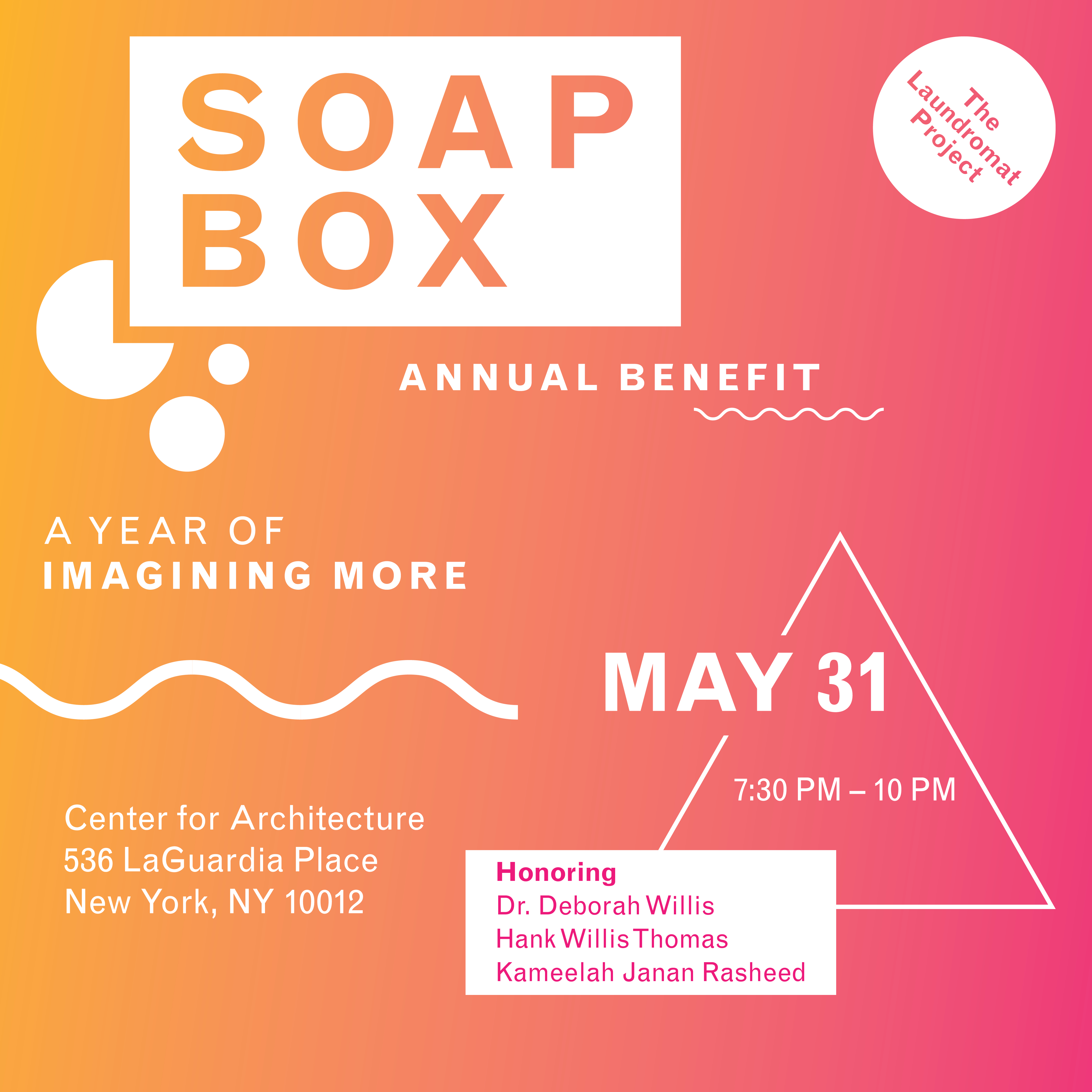 Buy Tickets Now for SOAPBOX 2017