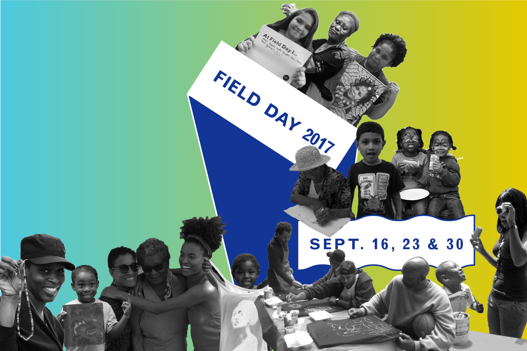Field Day 2017: Bed-Stuy Neighborhood Memory Collage