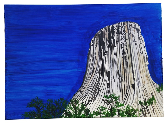 Rudy Shepherd's Devil's Tower (from the Holy Mountain series) (2016)