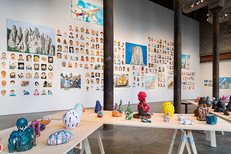 "Exhibition view of ""Everything in the Universe is My Brother"" at Smack Mellon. Image courtesy of Smack Mellon. Photo: Etienne Frossard."