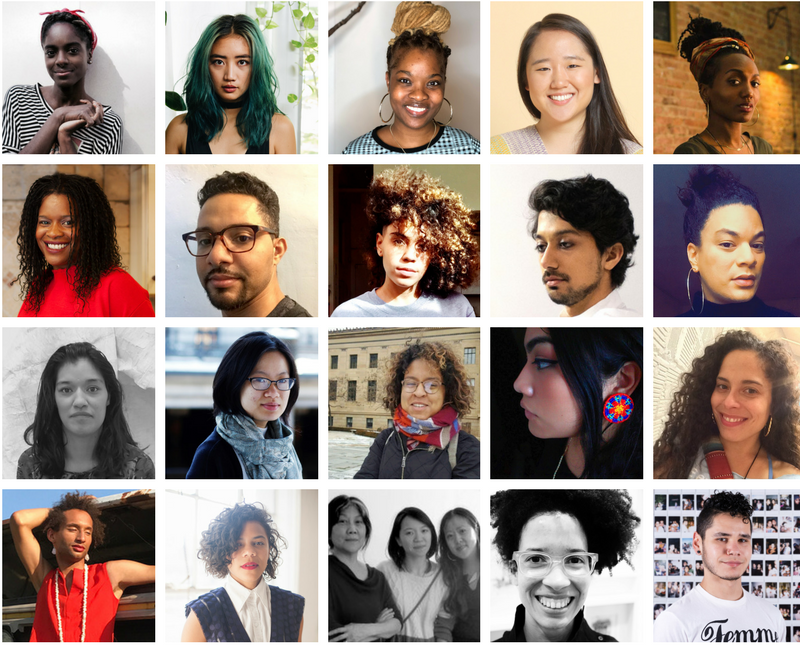 Meet Our 2018 Create Change Artists