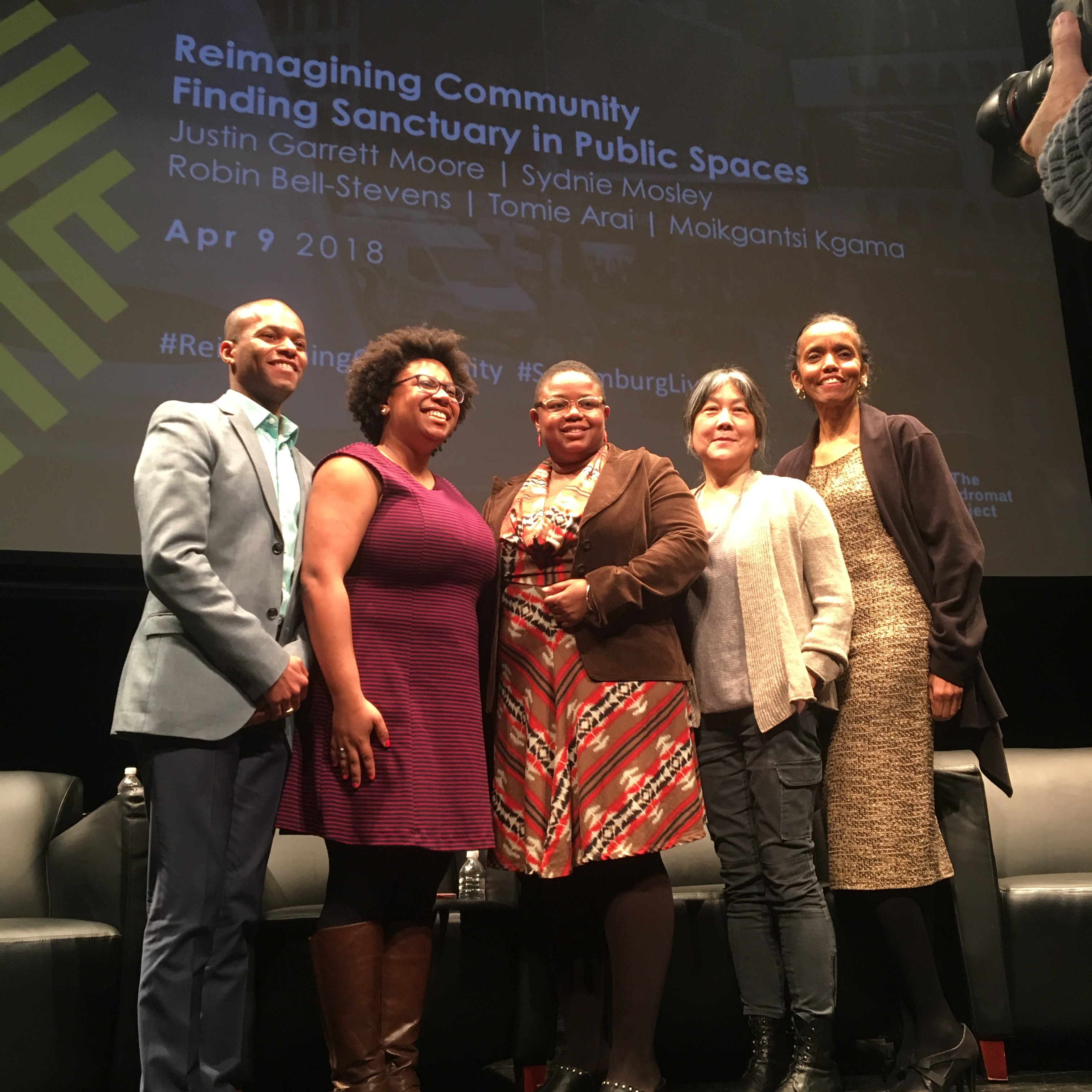"Recap Of ""Reimagining Community: Finding Sanctuary In Public Space"""